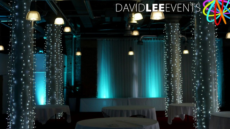 Place Aparthotel Manchester Wedding Lighting