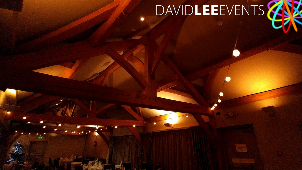 white hart festoon lighting david lee events