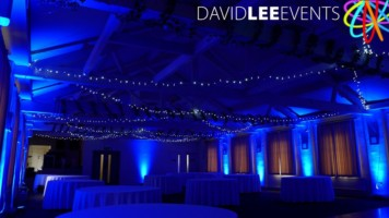 Winter Wonderland venue lighting