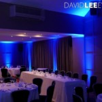 Holcombe Suite Red Hall Hotel Uplighting