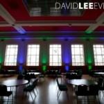 Uplighting at Dukinfield Town Hall