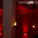 Manchester Venue lighting Red