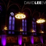 Manchester Town Hall uplighting