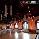 Sandbach Town Hall Festoon and uplighting hire